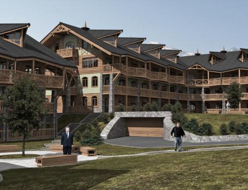 VIZ – Apartmánový komplex, Nová Lesná, SVK