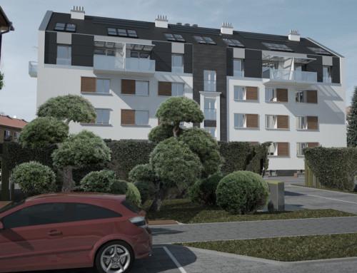 Nadstavba bytového domu I., Prešov, SVK