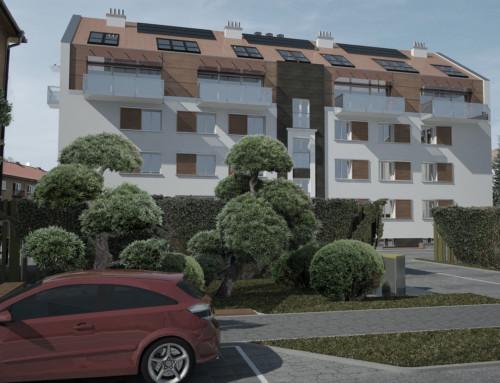 Nadstavba bytového domu II., Prešov, SVK