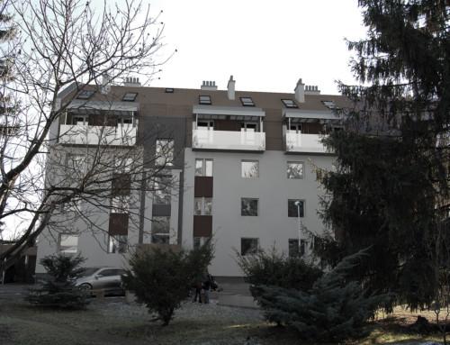 Nadstavba bytového domu III., Prešov, SVK