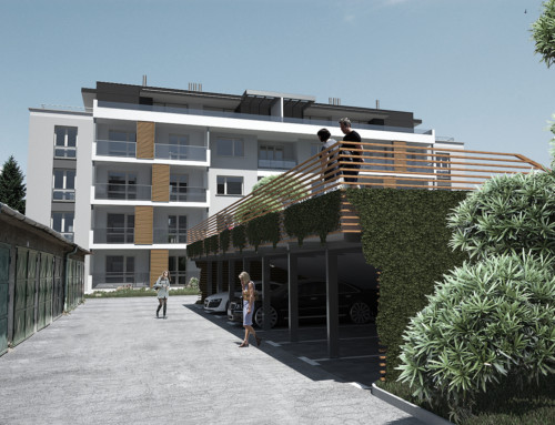 Nadstavba bytového domu, Prešov, SVK