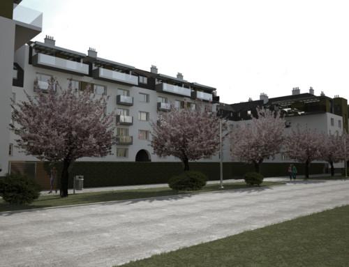 Nadstavba bytového domu II, Prešov, SVK